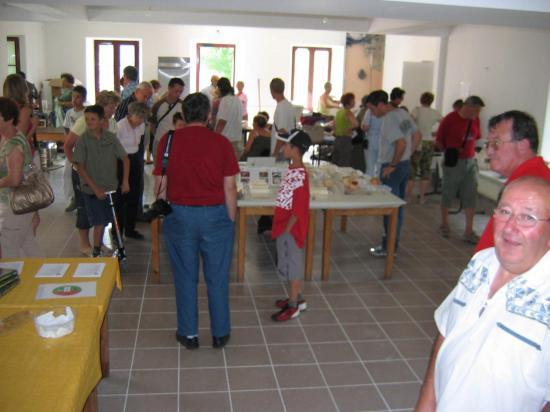 Expositon La Chapelle-Geneste 15/08/2008